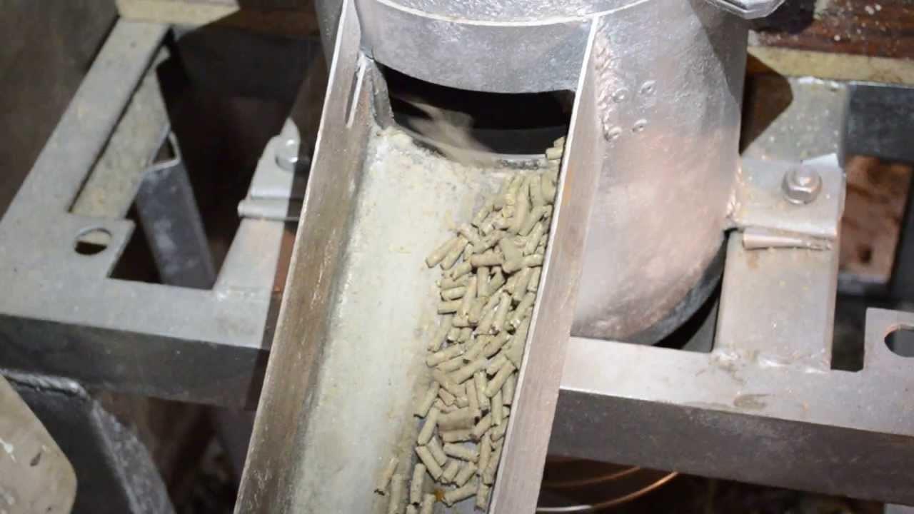 гранулятор для корма своими руками